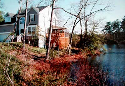 Newport News Virginia On Summer Lake And Warwick River